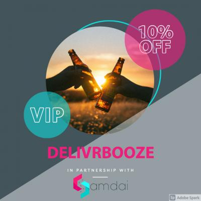 Order your alcohol and have it delivered the very same day! no more leaving the house for those last minute supply popups! You can get 10% off as well!