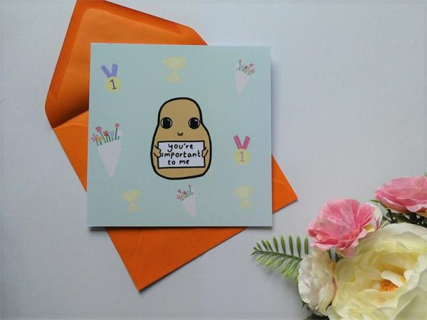 You're Important To Me greeting card